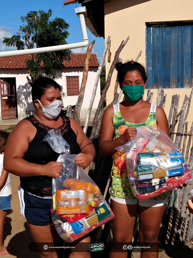 Prefeitura de Amparo da início a programa de Distribuição de Cestas Básicas para famílias em vulnerabilidade social