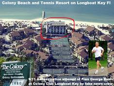 9/11/2001 Assassination attempt Pres George Bush Colony Club Sarasota Fl