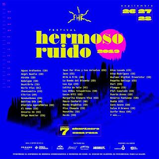 CARTEL Festival Hermoso Ruido | SÉPTIMA EDICIÓN