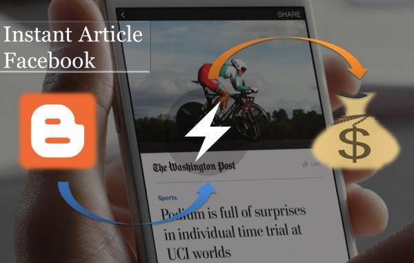 Cara Membuat Instant Article Facebook Untuk blogger