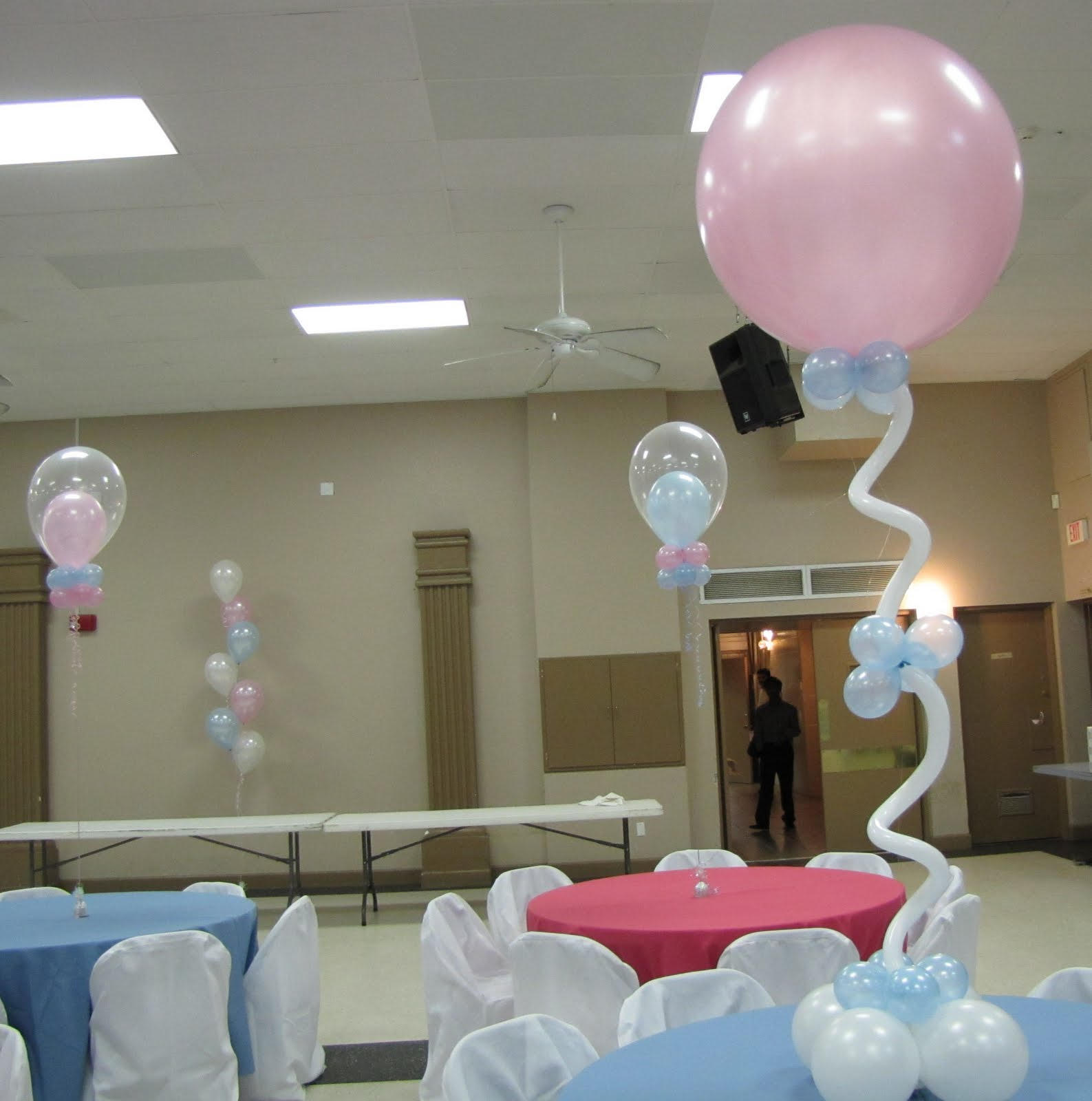 Balloon Centerpiece Baby Shower : Party people event decorating company baby shower ocala fl