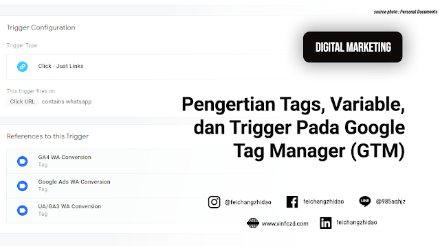 Pengertian Tags, Variable, dan Trigger Pada Google Tag Manager (GTM)