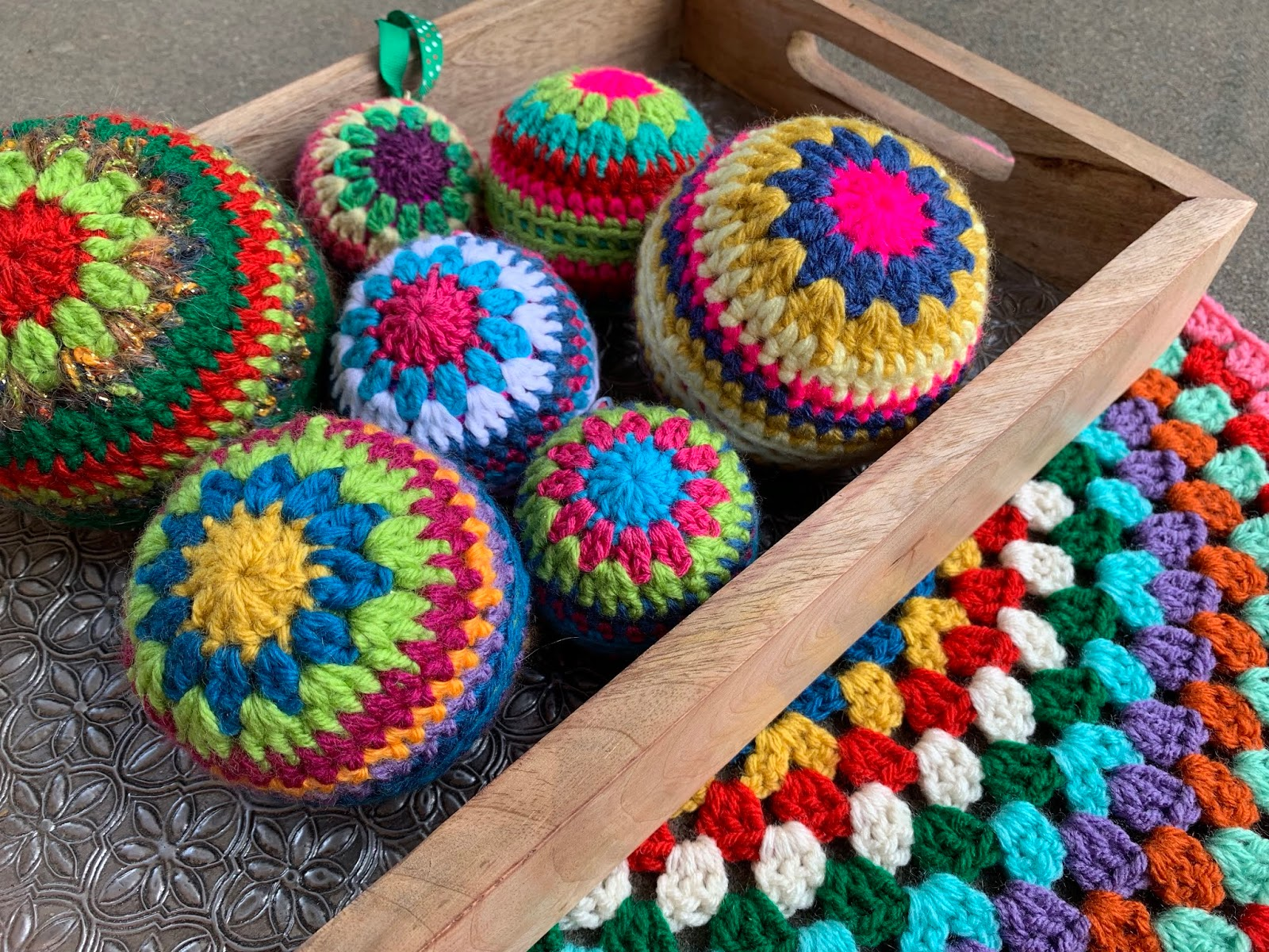 Christmas In Color.Crochet In Color
