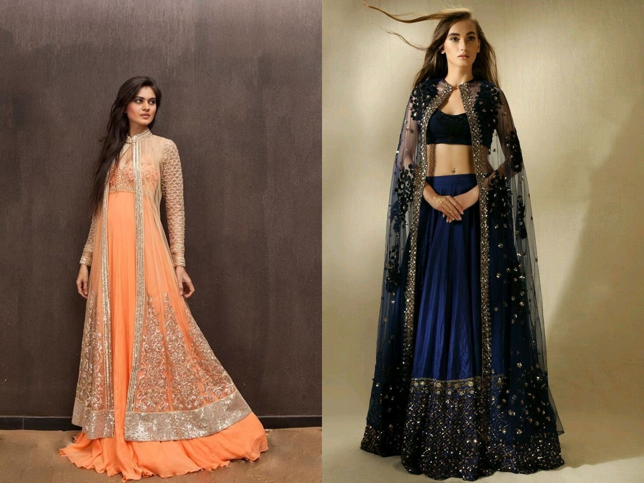 fadc2fb3b61c9 If you are very particular about wearing a lehenga for your engagement but  want to make it trendy ...