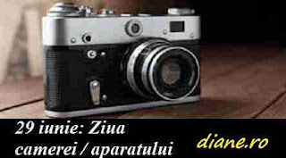 29 iunie: Ziua camerei / aparatului foto