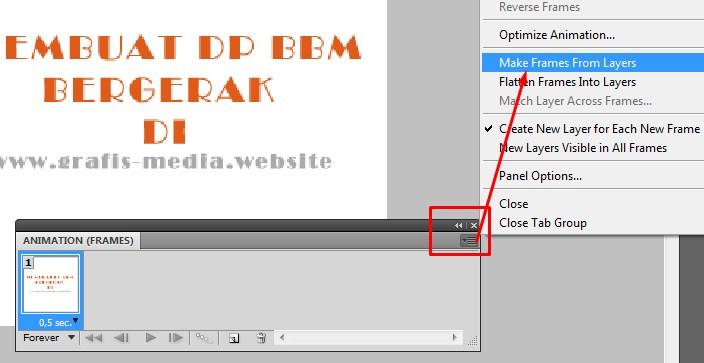 Cara Membuat Dp Bbm Bergerak Dengan Photoshop Indoint