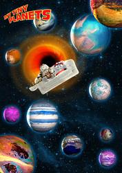 I Loved the Yeti: Astronaut 6: Kids Cartoon: Tiny Planets
