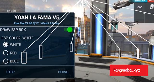 Cheat FF Mod Menu Yoan La Fama v5 Auto Headshot Aimbot ESP Antiban