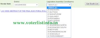 Kozhikode voter List 2016