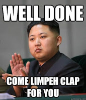 Limpeh clap for you