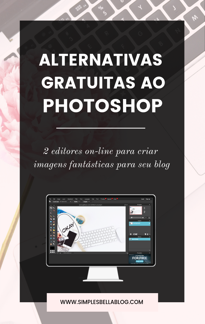 Duas alternativas gratuitas ao Photoshop