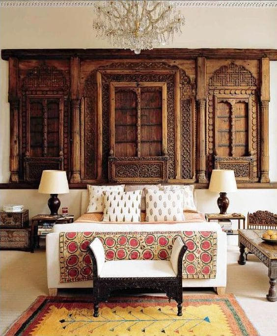 Indian-style bedrooms design