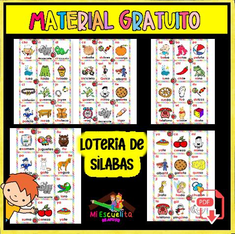 lotería de sìlabas