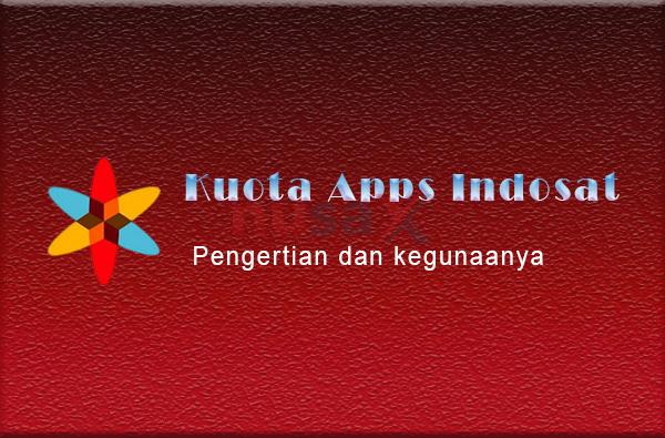 kuota apps indosat