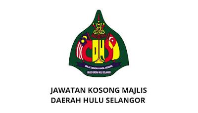 Jawatan Kosong Majlis Daerah Hulu Selangor 2019 (MDHS)