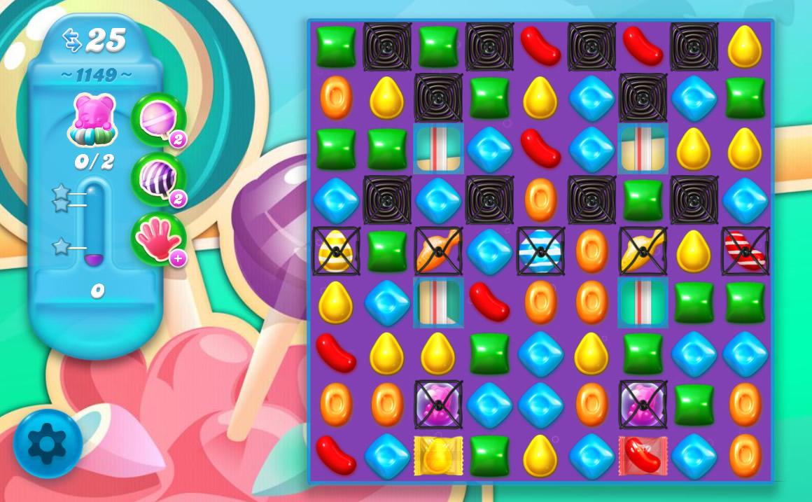 Candy Crush Soda Saga level 1149