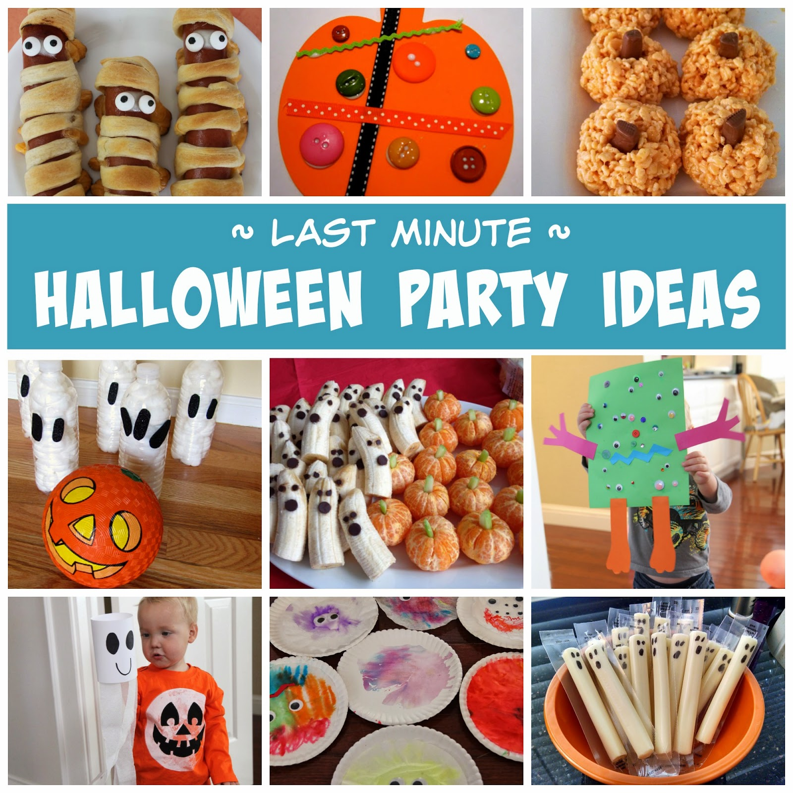 Toddler Approved Last Minute Halloween Party Ideas