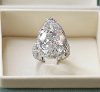 paris hilton 20 carat diamond engagement ring