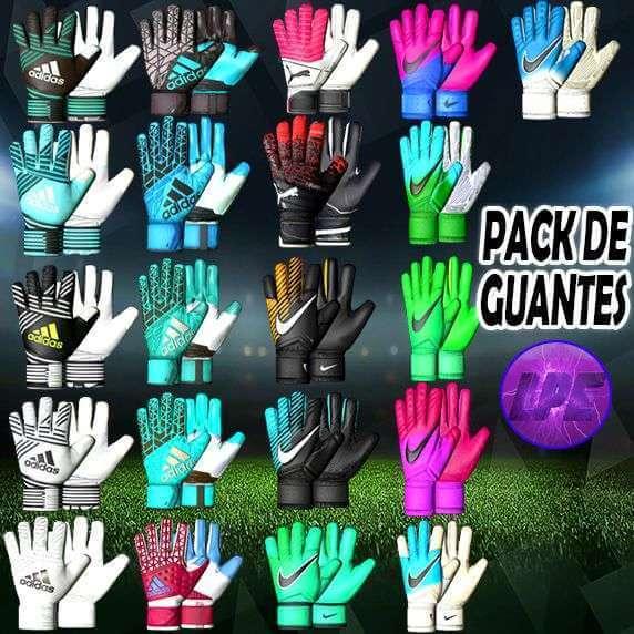 PES 2017 New Glove Pack dari Latin Pesedit