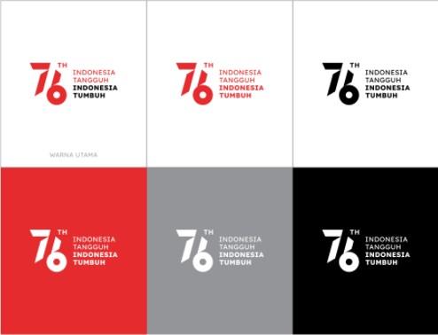Logo dan Tema HUT RI ke 76 Tahun 2021