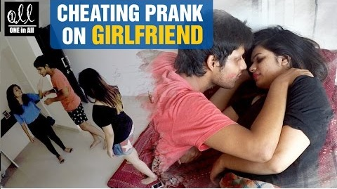 Cheating Prank on Girlfriend