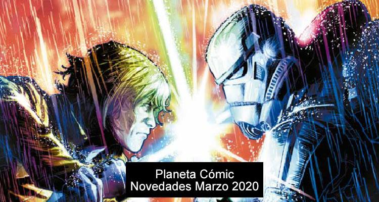 Planeta Cómic: Novedades Abril de 2020