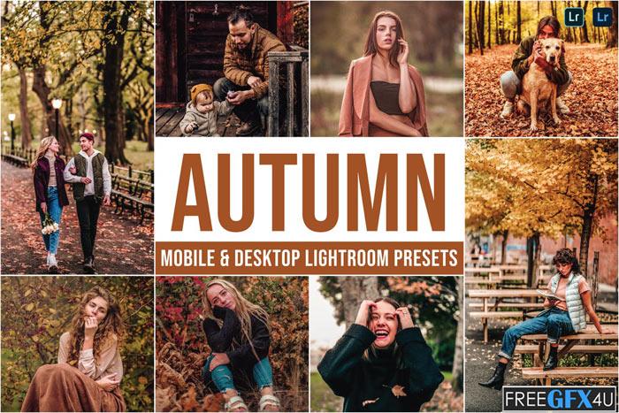 Autumn Mobile And Desktop Lightroom Presets