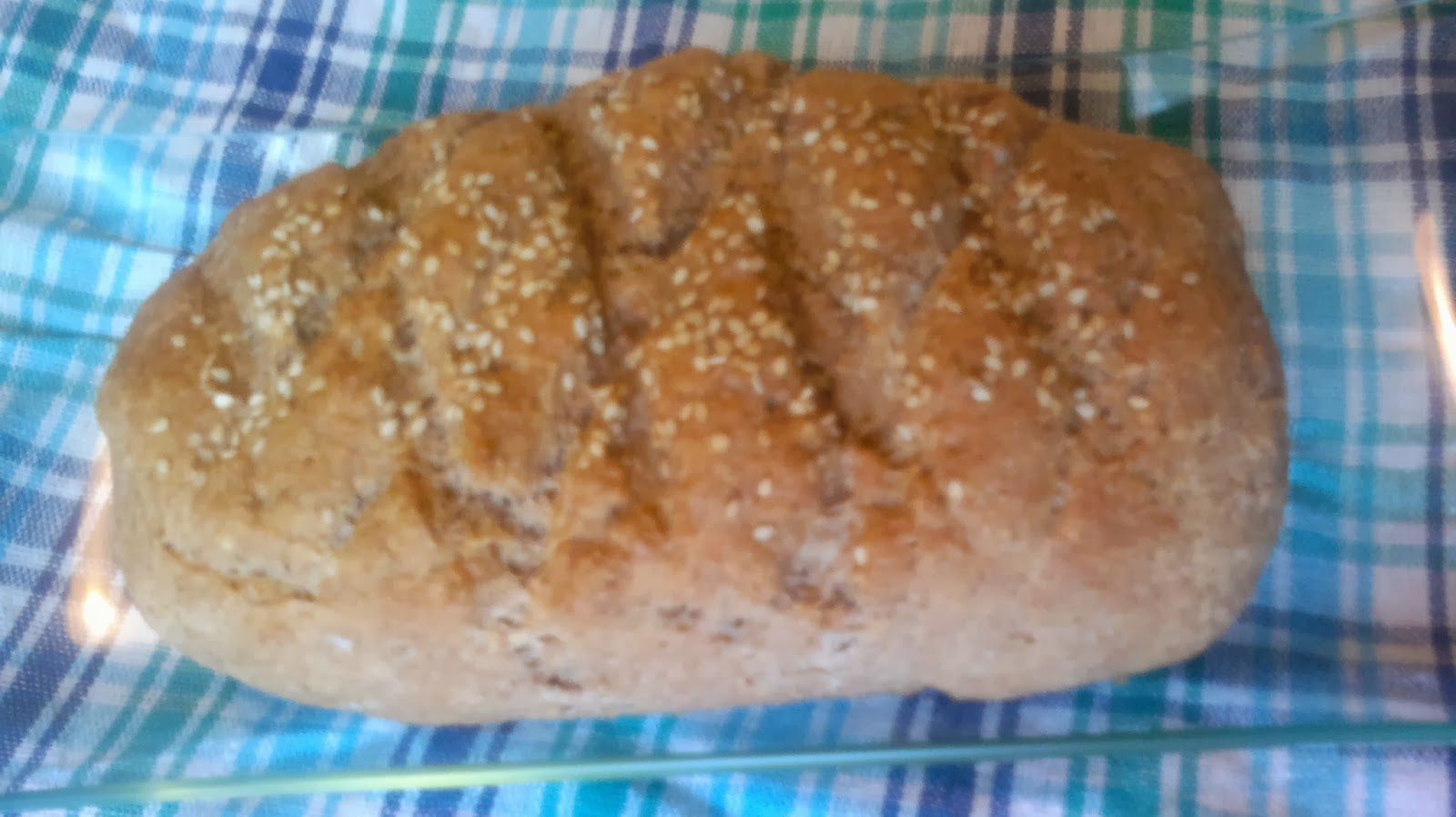 ingredientes del pan integral sin levadura