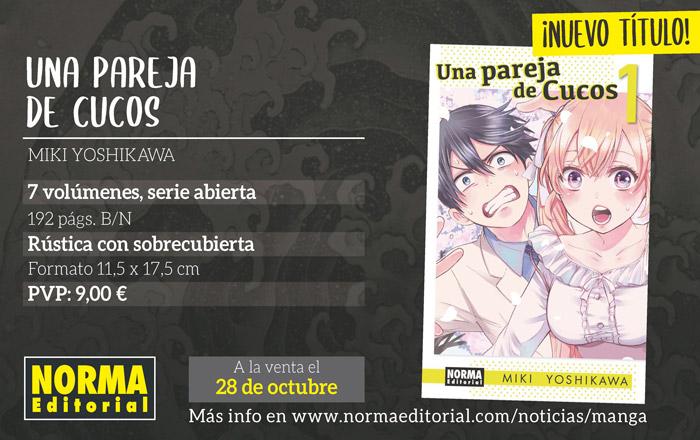 Una pareja de cucos (Kakkou no Iinazuke) manga - Miki Yoshikawa - Norma Editorial