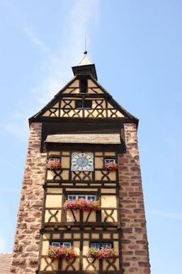 Facciata interna del Dolder di Riquewihr