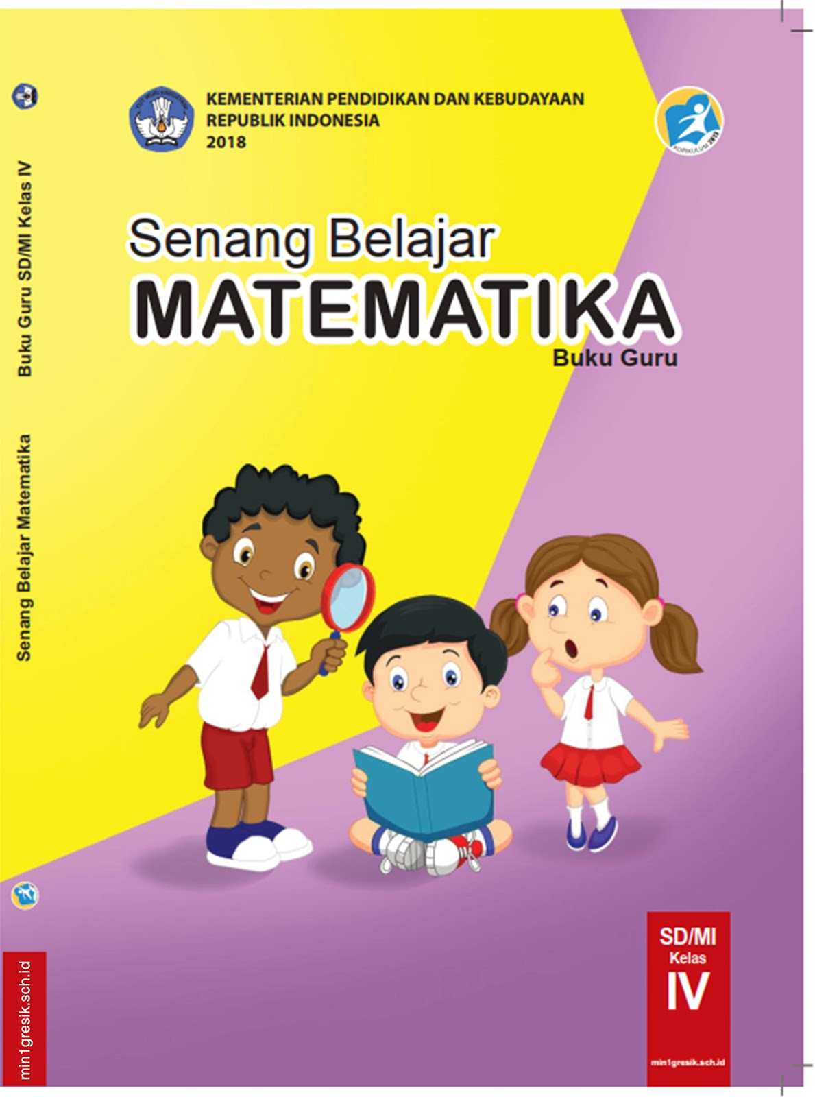 Pelajaran Matematika Kelas 4 Sd : pelajaran, matematika, kelas, Pelajaran, MATEMATIKA, Untuk, Kelas, SD/MI, Kurikulum, (Edisi, Revisi, Tahun, 2018), Gresik