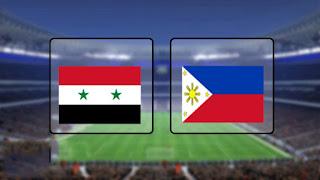 مشاهدة مباراة الفلبين وسوريا بث مباشر 05-09-2019 تصفيات آسيا المؤهلة لكأس العالم 2022
