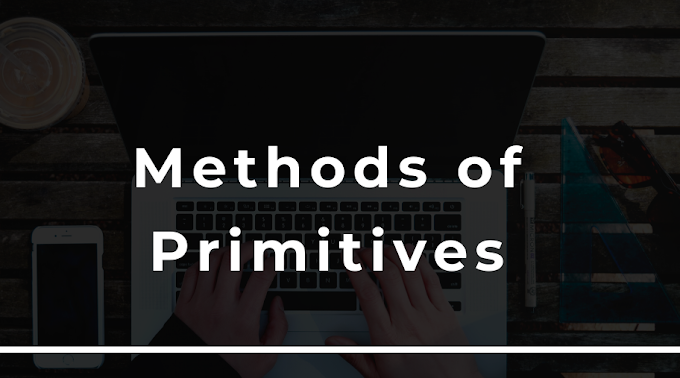Methods of primitives in javaScript