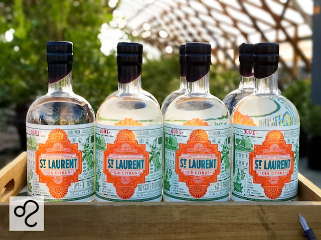 gin-astrologique,gin-quebecois,gin-citrus,gin-st-laurent,distillerie-du-st-Laurent,madame-gin