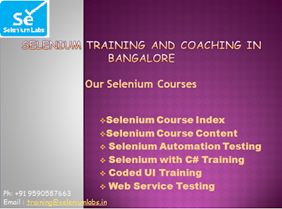 Webservices training in bangalore