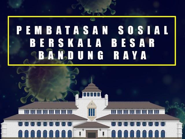 Wajib Diketahui, Inilah Pedoman bagi Warga Saat PSBB di Bandung Raya