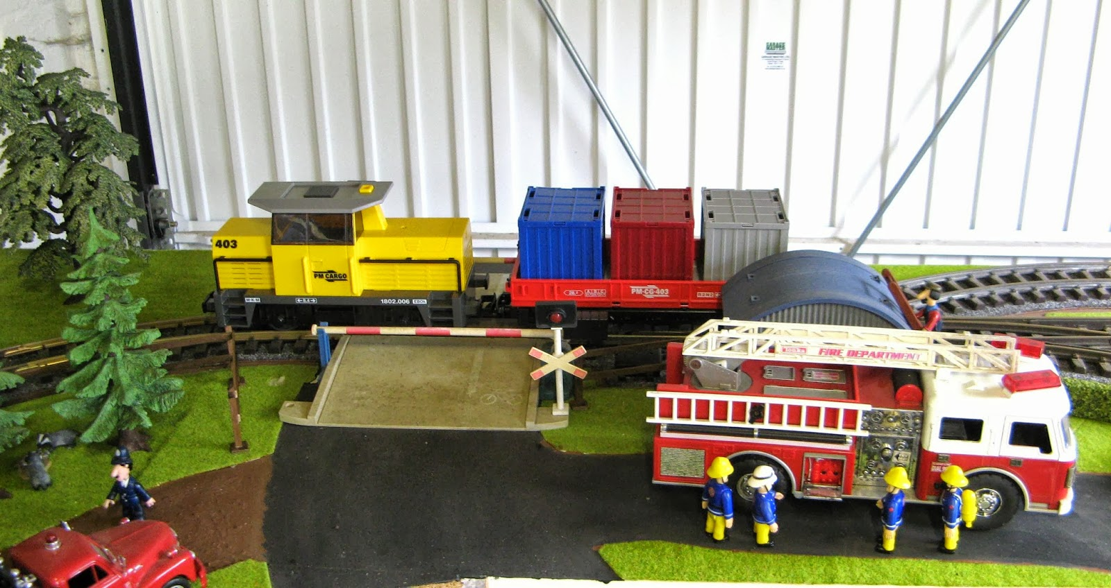 Central Coast Railroad Festival |Playmobil Train Layouts