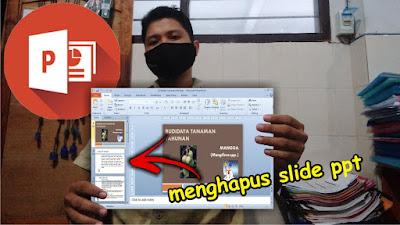 Menghapus Slide PowerPoint yang Tidak Digunakan