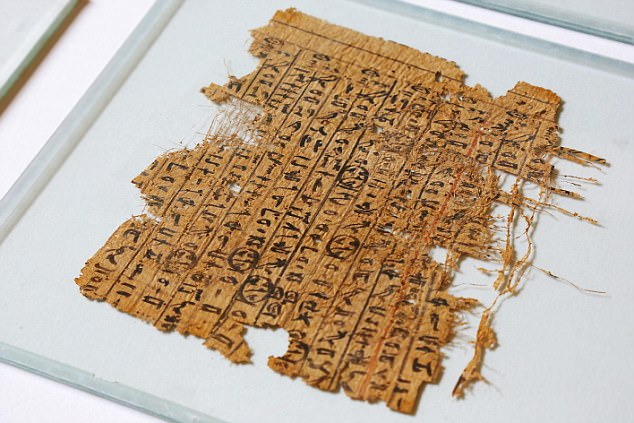 Ancient papyrus reveals how Egyptians transported limestone blocks to build the Great Pyramid