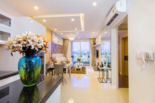 Căn hộ RichStar tại Q.Tân Phú được thiết kế theo tiêu chuẩn hiện đại