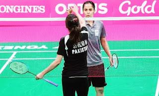 mahoor shahzad and saina nehwal
