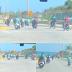 Estudiantes del LICATEBA echando carrera de motor.