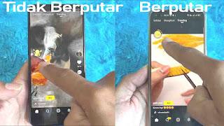 Cara Membuat Koin Snack Video Berputar