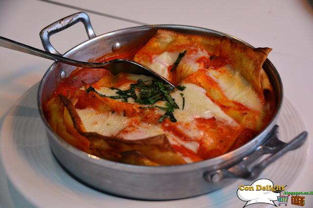 לזנית חצילים נחמן Eggplant lasagna