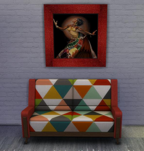 Sims 4 3 African American Art Prints Blewis50