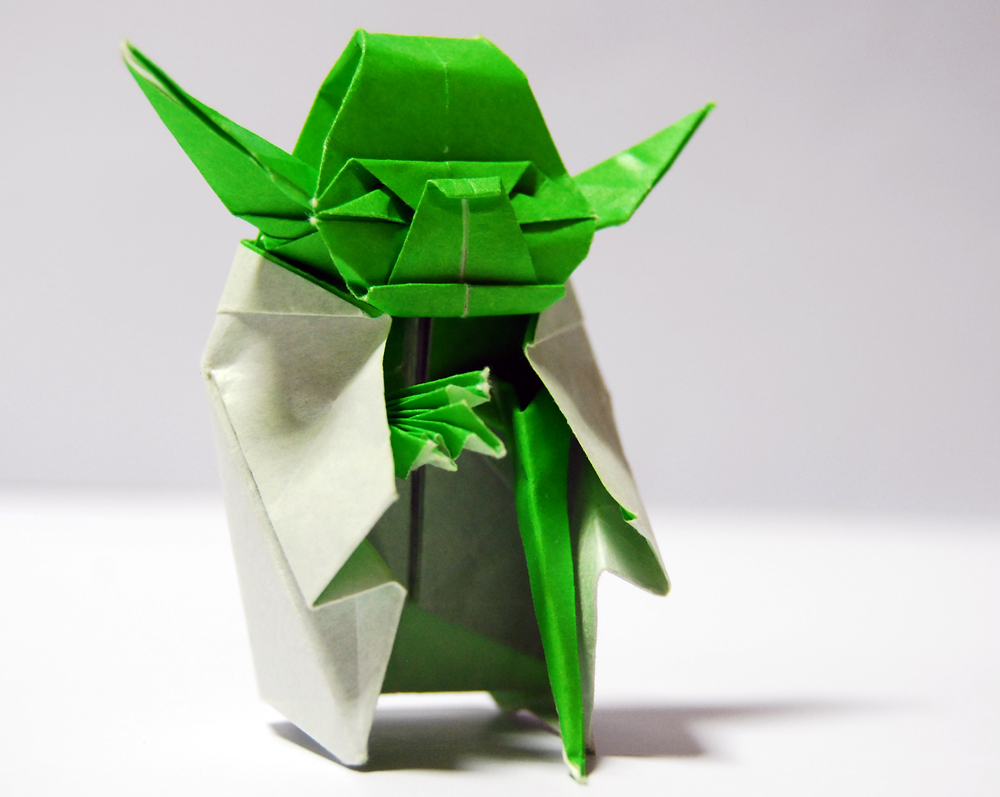 How To Make An Origami Darth Vader Step By Step
