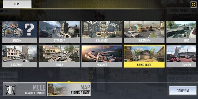 cod mobile map