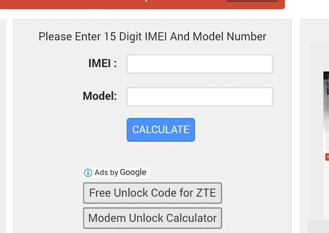 Zte Z839 Network Unlock Free