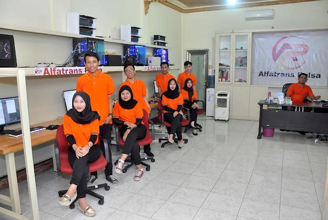 Kantor Server Alfatrans Pulsa