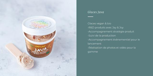 Glaces Java Bio & vegan